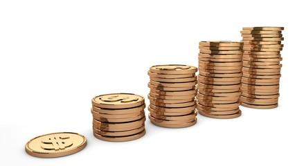 график монет