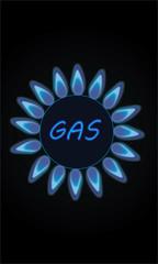illustrazione fornello a GAS