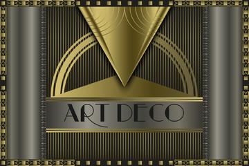Art deco concept