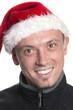 Freundlicher Weihnachtsbursche