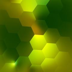 Green Abstract Geometric Background Pattern - Illuminated Modern