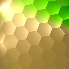 Abstract Texture Background for Your Design - Vibrant Green