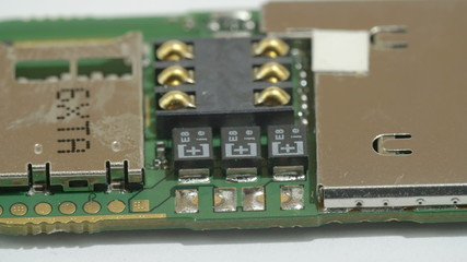 The details of the USB microchip