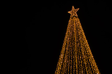Christmas tree illumination