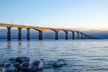 Bridge in morning sun