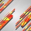 Abstract futuristic geometric shapes