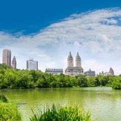 Central Park The Lake Manhattan New York
