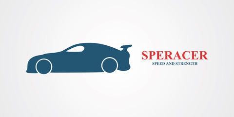 Sport car vector logo