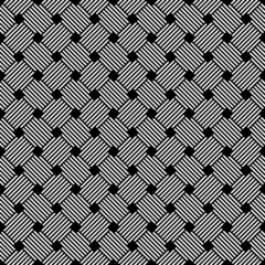 Seamless geometric latticed checked texture.
