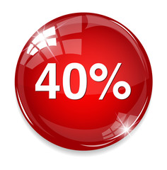 40 percent icon