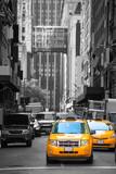 Fift avenue neigbourhood yellow cab taxi 5 th Av © Tono Balaguer