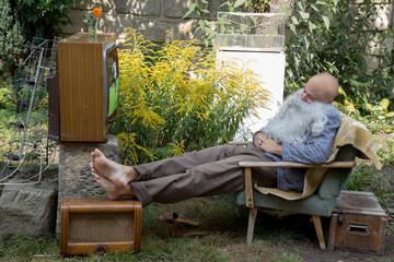 television viewers sleeping at football