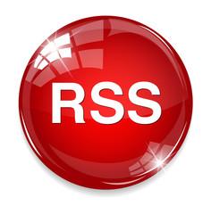rss  circle web glossy icon