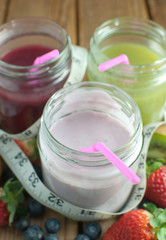 Smoothie yogurt beverages