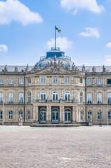 New Palace at Schlossplatz in Stuttgart, Germany