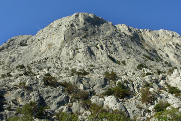 Mountain in the south of Crimea in Ukraine