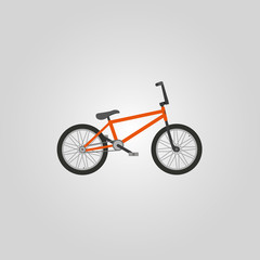 Vector BMX bicycle.