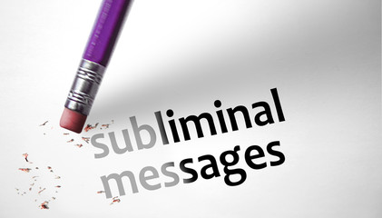 Eraser deleting the concept Subliminal Messages