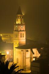 Campanario de la Iglesia de San Pedro en Fraga, Huesca