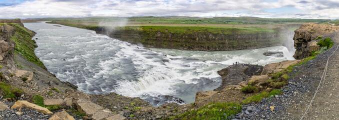 Gullfoss Panorama