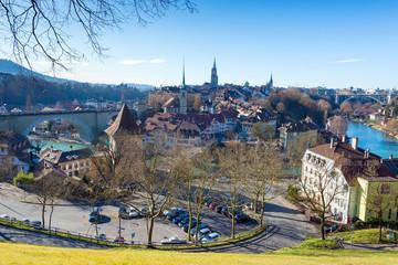 Stadtansicht von Bern