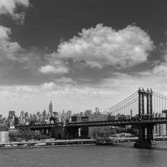 Manhattan Bridge from Brooklyn New York City