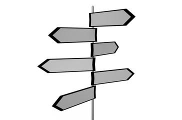 street sign with an arrow  3