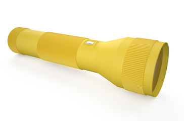 yellow  flashlight