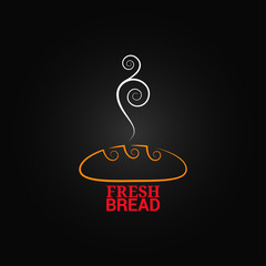 bread ornate design background
