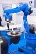 Leinwanddruck Bild - Automatic Welding CNC Machine