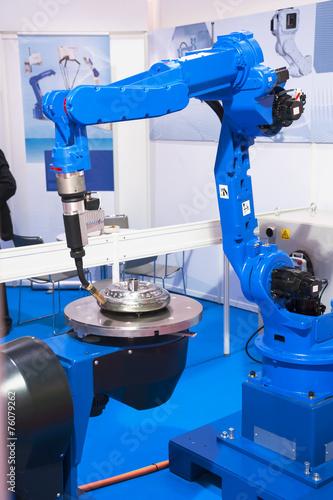 Leinwanddruck Bild Automatic Welding CNC Machine