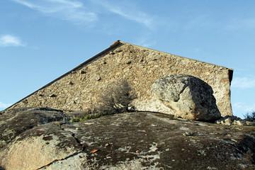 Corral en la Morisca, Montehermoso, Cáceres, España