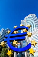 Euro sign in Frankfurt