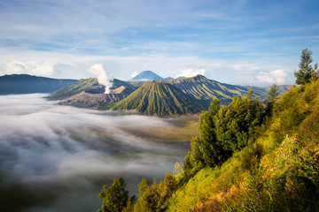 Mount Bromo at Sunrise, Java, Indonesia