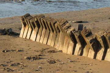 Charente-maritime - Yves - Vestiges du mur de l'Atlantique