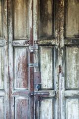 Detail einer alten Tür