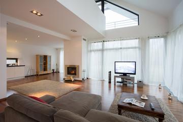 Spacious luxury living room