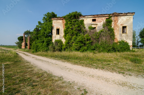 canvas print picture Abandoned Old House