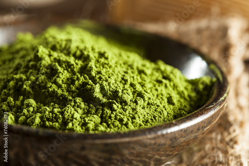 Raw Organic Green Matcha Tea - 76082673