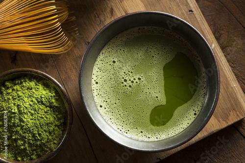 In de dag Koffie Organic Green Matcha Tea