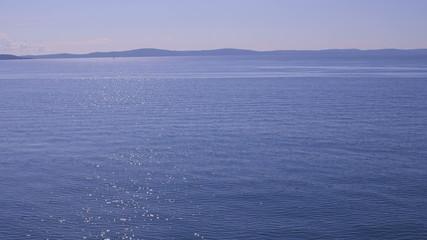 Blue Adriatic sea