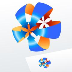 Vector colorful logo