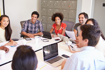 Designers Meeting To Discuss New Ideas