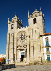 The Porto Cathedral is a popular tourist attraction of Portugal