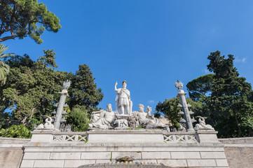 Piazza del Poppolo in Rome