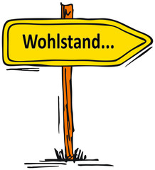 Wohlstand...