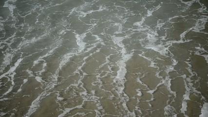 Ocean wave motion at shoreline, HD video