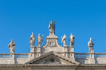 Archbasilica of St. John Lateran in Rome, Italy