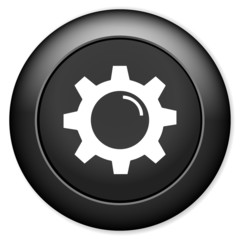 Gears settings sign icon. mechanism symbol