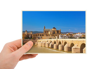 Cordoba Spain photography in hand